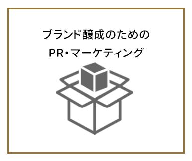 ブランド醸成のためのPR・マーケティング